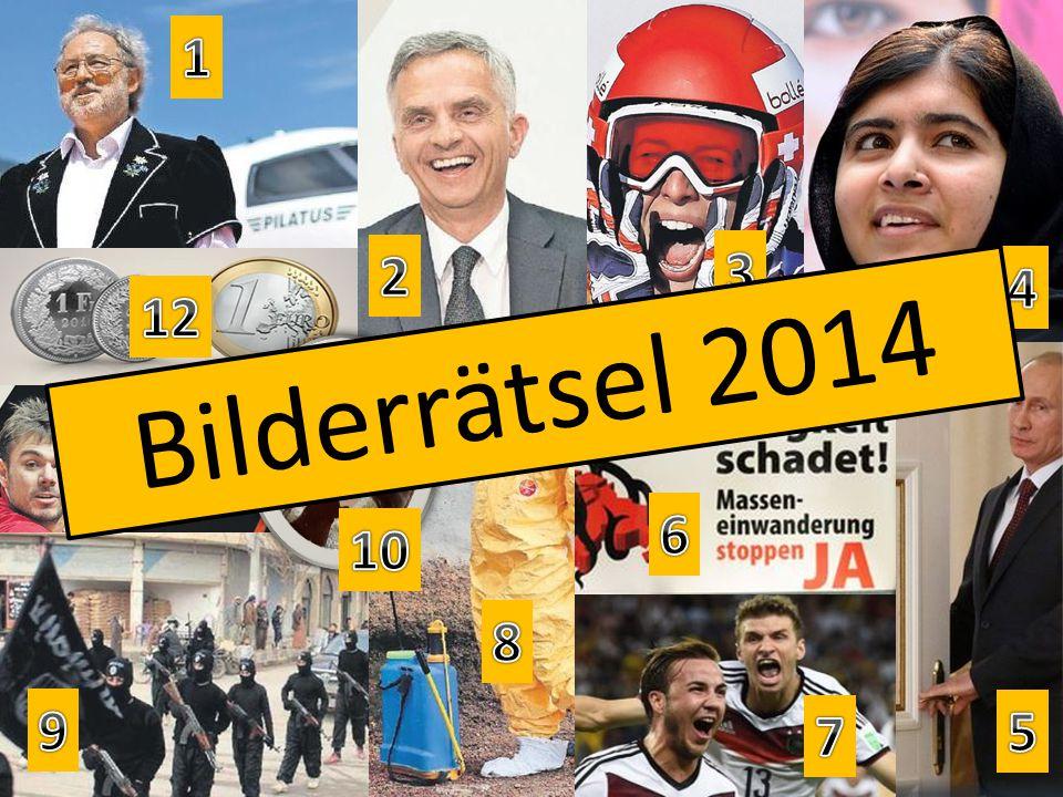 Bilderrätsel 2014