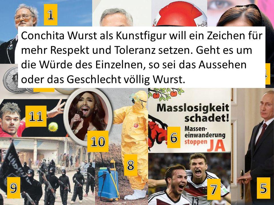 Conchita Wurst als Kunstfigur will ein Zeichen für mehr Respekt und Toleranz setzen.