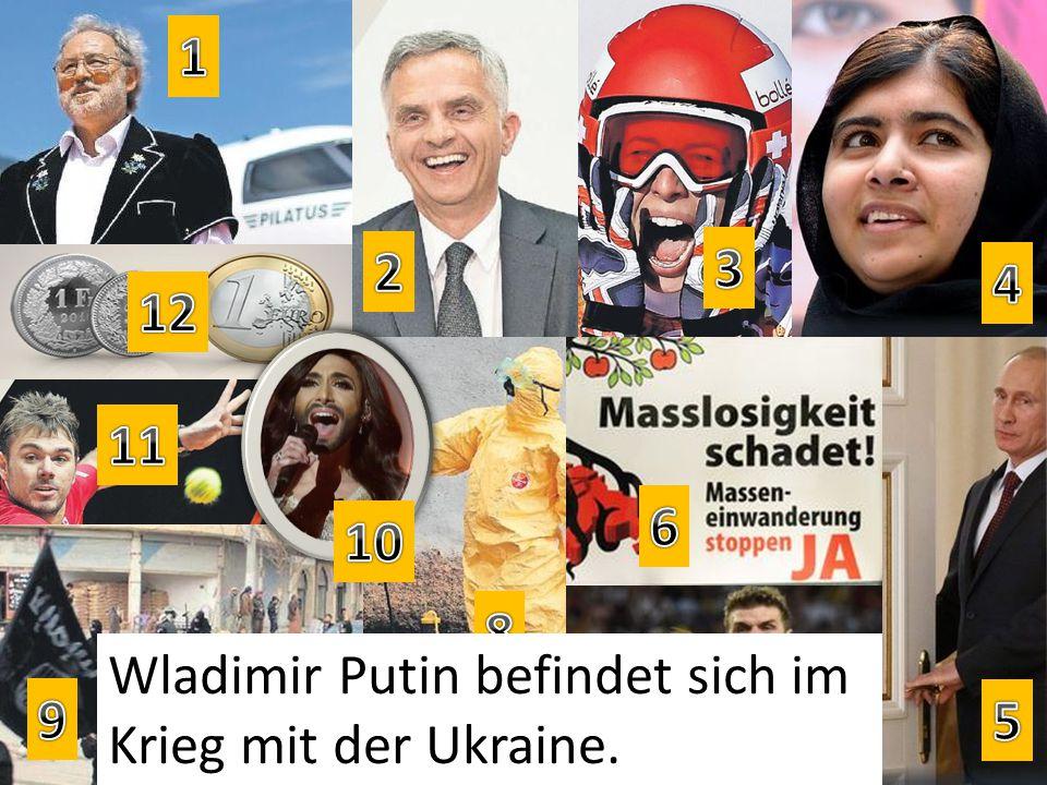 Wladimir Putin befindet sich im Krieg mit der Ukraine.