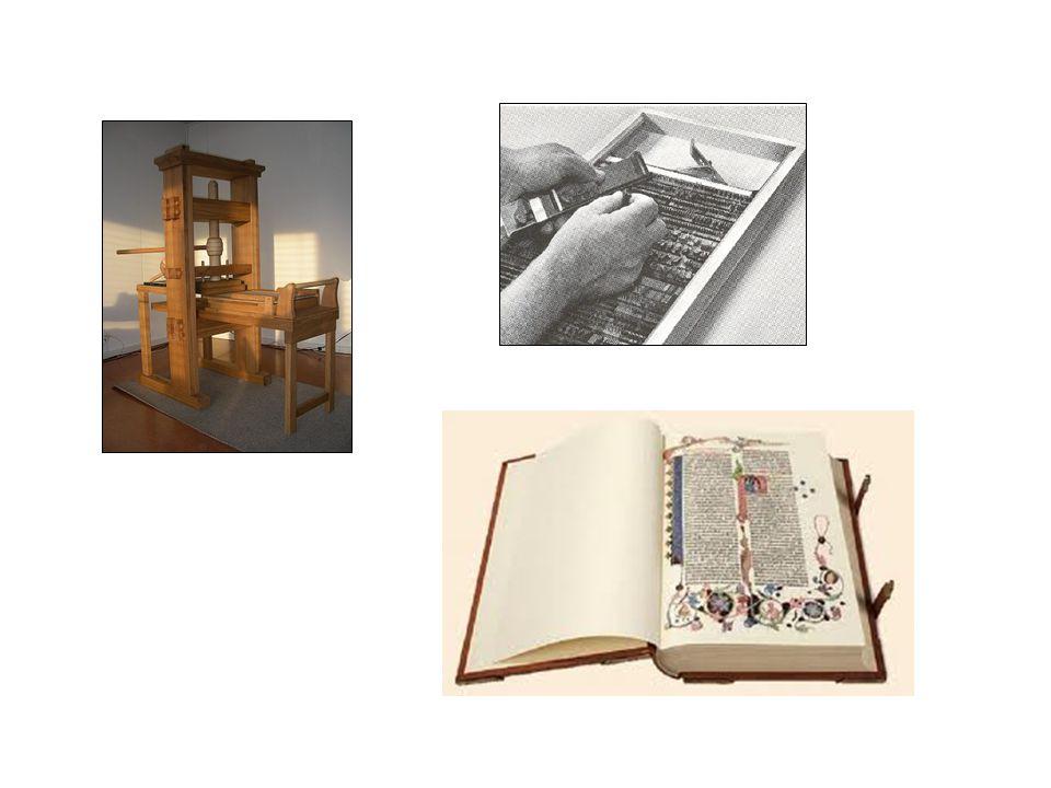 Fragen Worin bestand das Revolutionäre an Gutenbergs Erfindung.