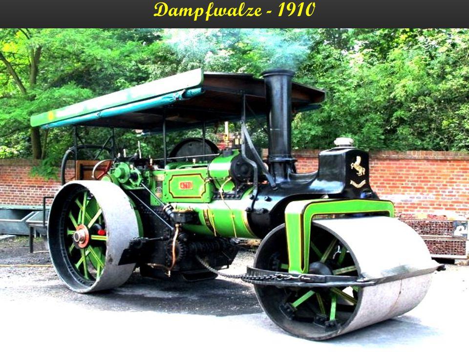 Dampfzugmaschine – England - 1910