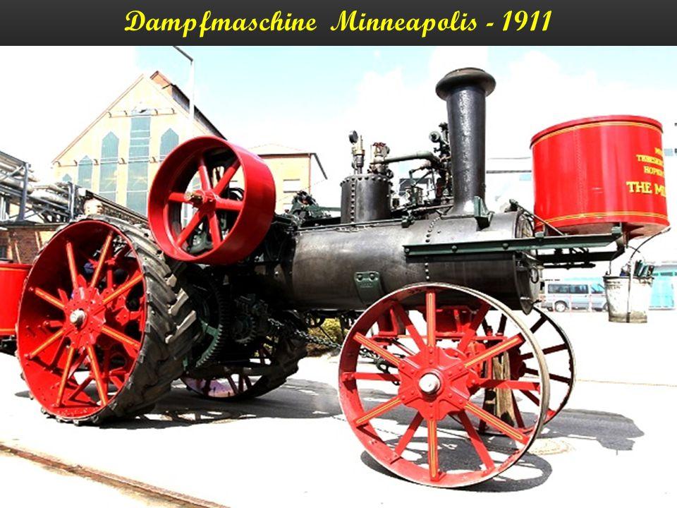 Dampfwalze - 1910
