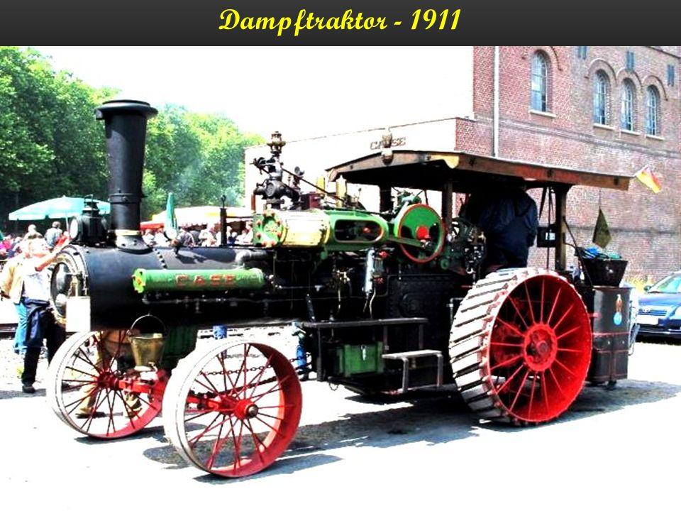 Dampfmaschine Minneapolis - 1911