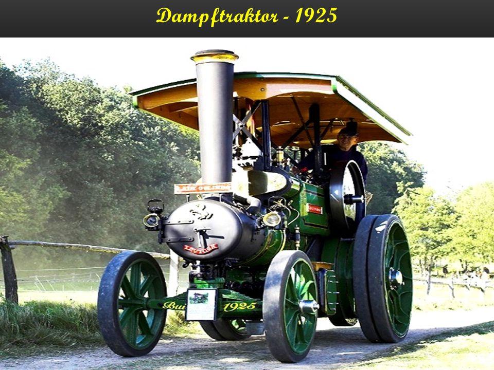 Dampfkreissäge - 1923