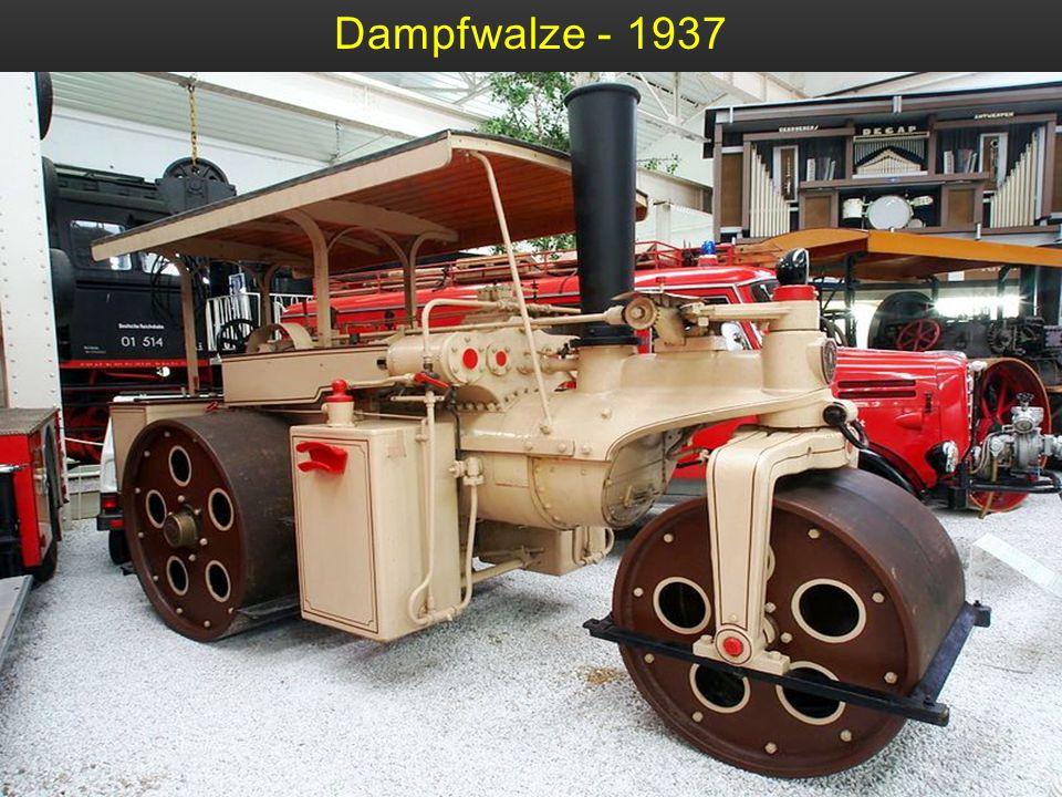 Dampfwalze - 1930