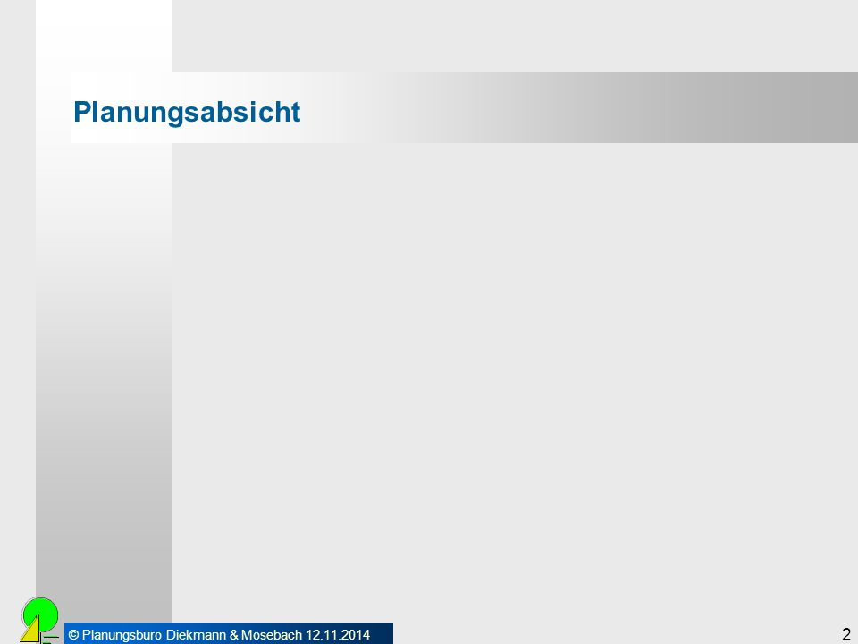© Planungsbüro Diekmann & Mosebach 12.11.2014 3 Planungsabsicht Repowering des Windparks in seinen aktuellen Grenzen (Geltungsbereich VEP Nr.