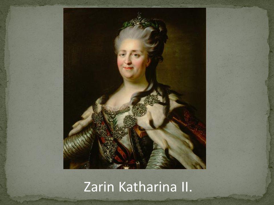 Zarin Katharina II.