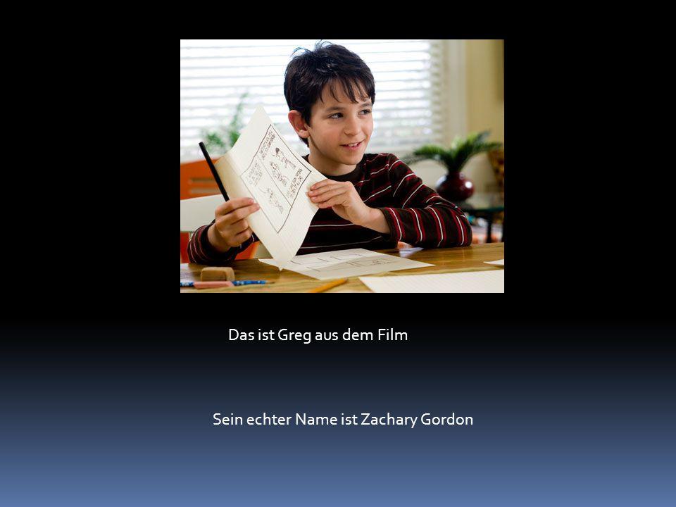 Das ist Greg aus dem Film Sein echter Name ist Zachary Gordon