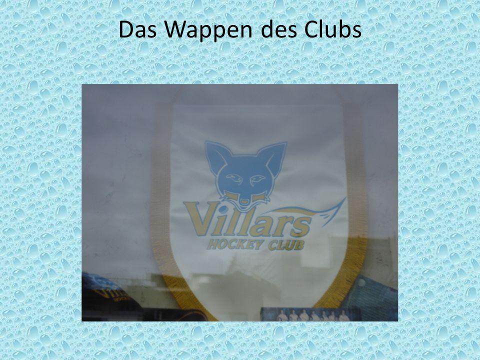 Das Wappen des Clubs