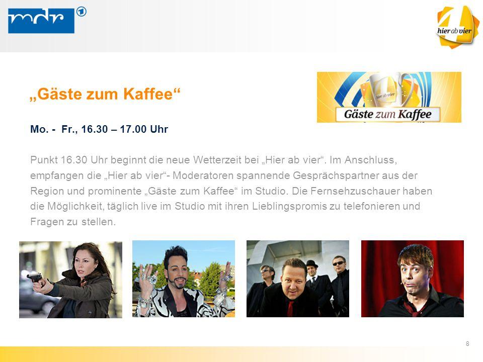 """9 Expertentelefone (Experten live im Studio) Montag: Nandine Meyden: """"Vorsicht Fettnäpfchen! Dienstag: Dr."""