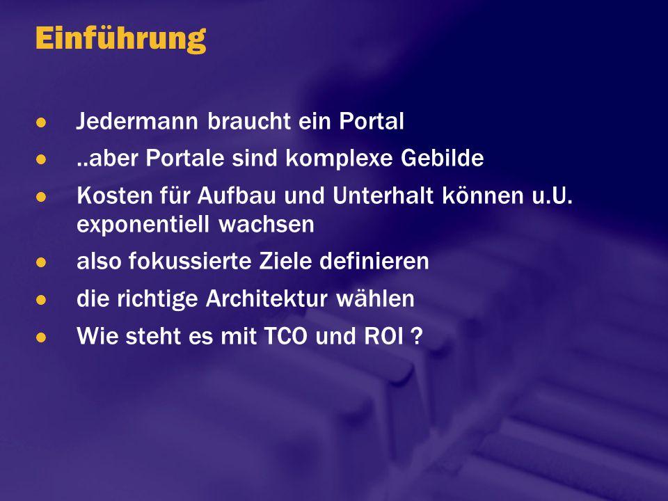 Gründe für den Kauf von Corporate Portal Software Quelle: Plumtree, 2000