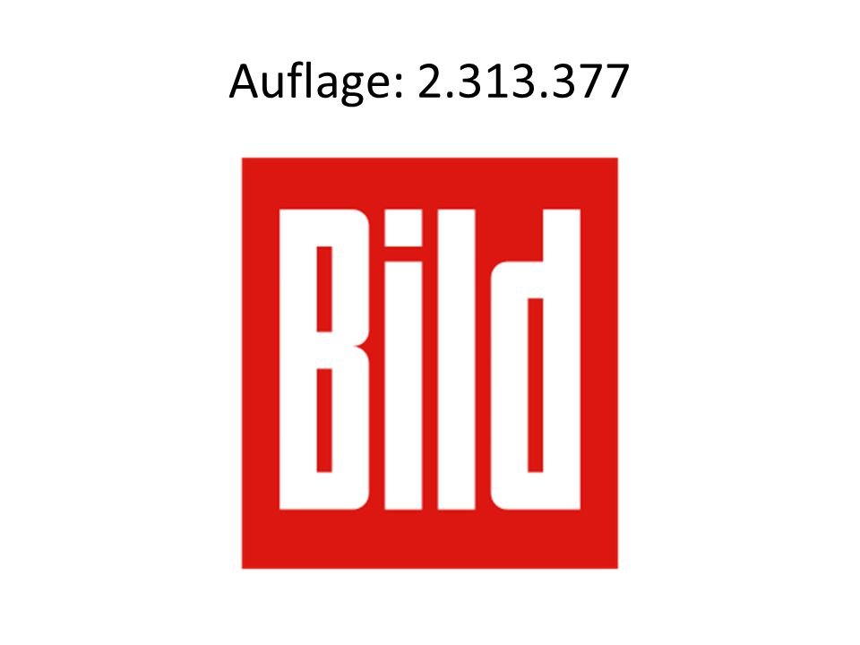 Auflage: 2.313.377