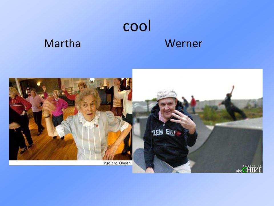 cool Martha Werner