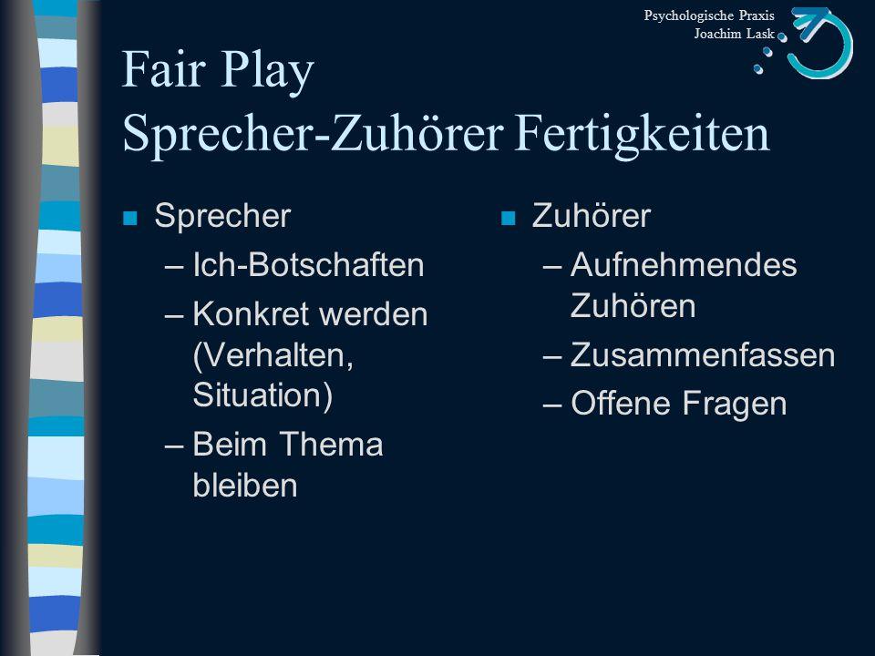"""Psychologische Praxis Joachim Lask Was """"nehmen Sie...... wahr"""
