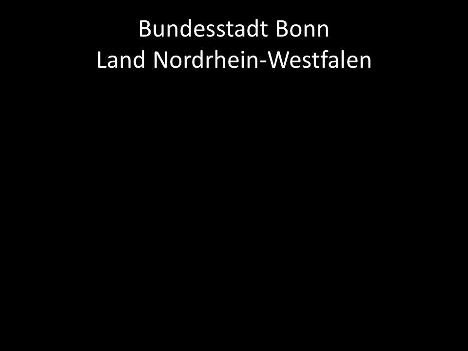 Bundesstadt Bonn Land Nordrhein-Westfalen