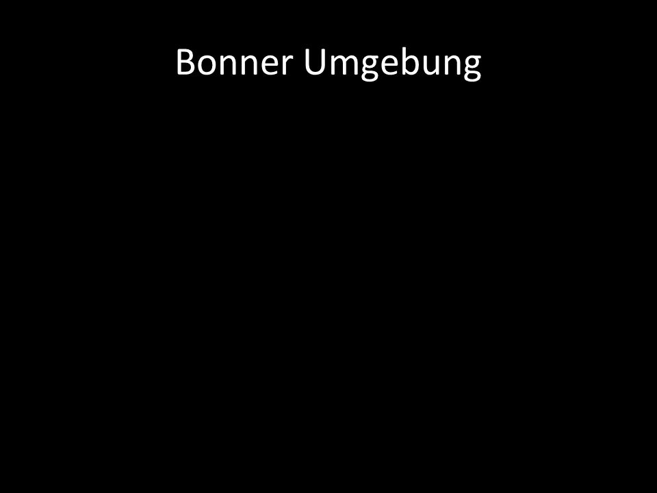 Bonner Umgebung