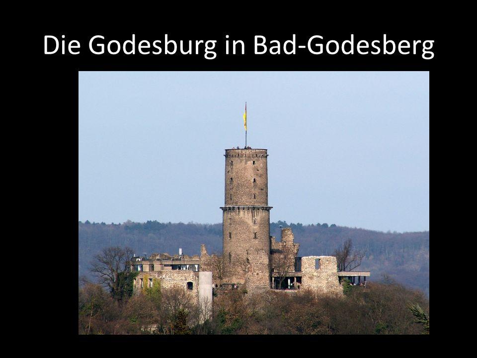 Die Godesburg in Bad-Godesberg