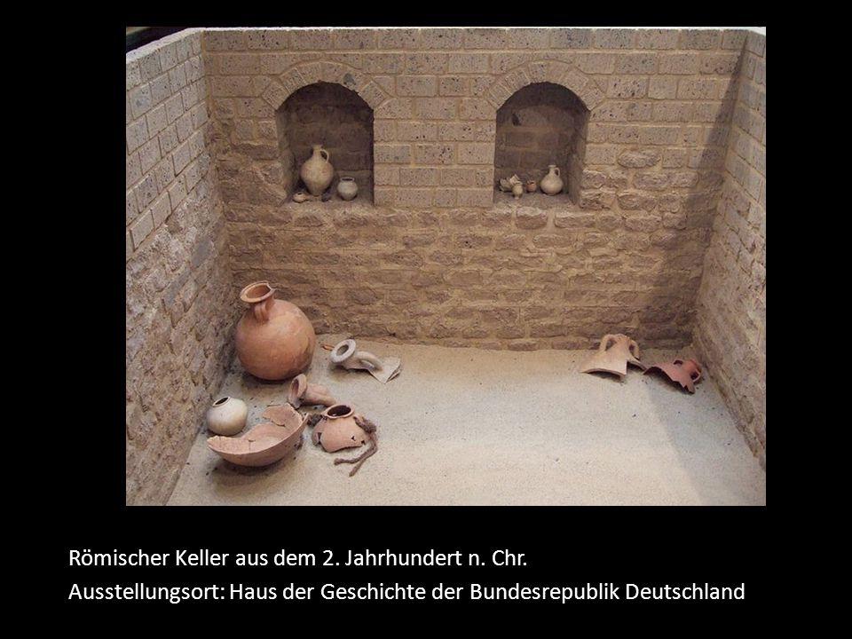 Römischer Keller aus dem 2.Jahrhundert n. Chr.