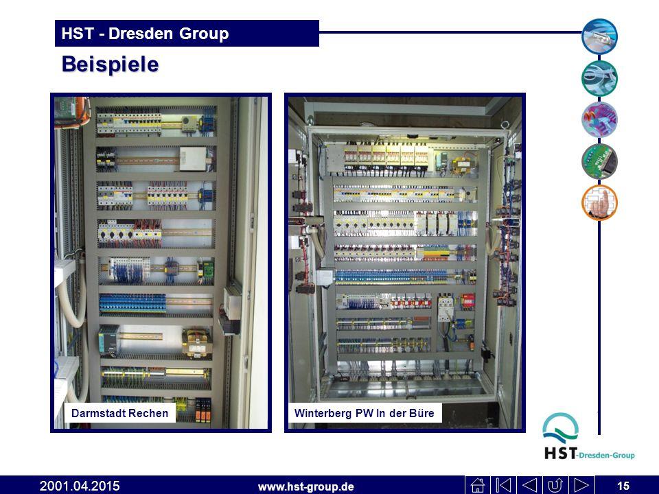 www.hst-group.de HST - Dresden Group Beispiele 15 2001.04.2015 Winterberg PW In der Büre Darmstadt Rechen