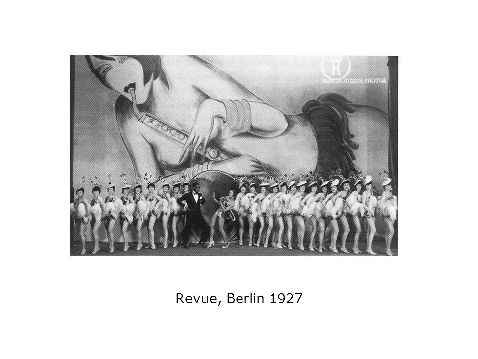 Revue, Berlin 1927