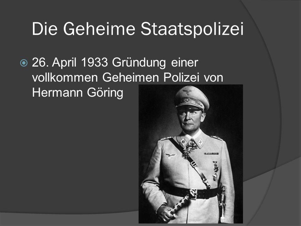 Die Geheime Staatspolizei  26.