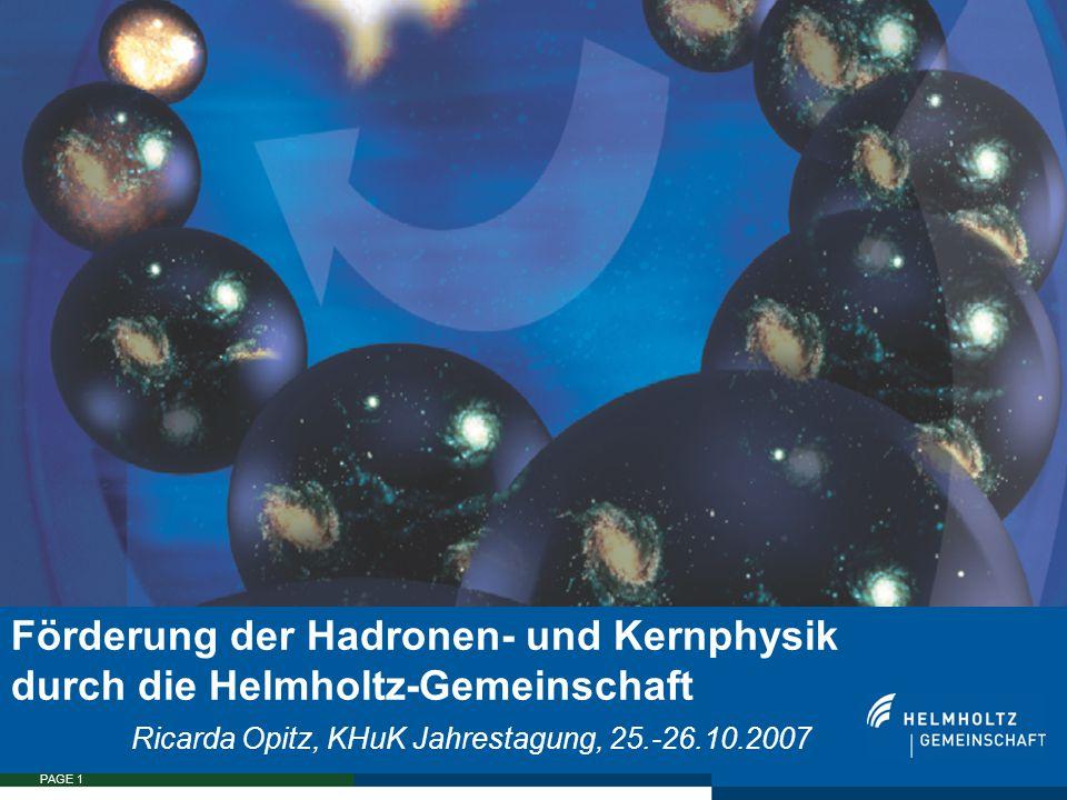 """SEITE 22  Helmholtz FAIR Russia Research Center: 1.3 Mio EUR in den nächsten 3 Jahren (August 2007-Juli 2010)  Weitere Zentren dieser Art geplant  Helmholtz-Kolleg an der GSI: """"States of strongly interacting dense matter in the universe probed by relativistic heavy ion collision , Partner: U Frankfurt, FIAS: bis zu 1.8 Mio EUR über 6 Jahre (2006 – 2012)  Aus den Investitionsmitteln der Helmholtz-Gemeinschaft:  97.7 Mio EUR für den Bau von FAIR  3 neue Anträge: insg."""