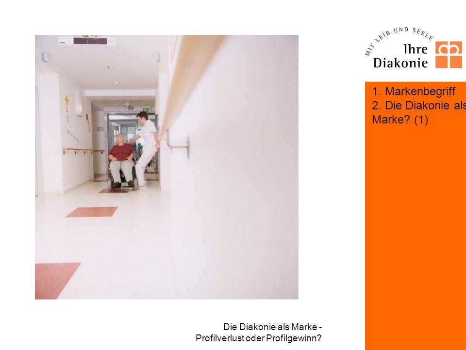 Die Diakonie als Marke? (1) Markenbildung am Beispiel des Diakonischen Werkes Bayern Die Optik –Logo –Hausschrift Rotis –Farbwelten HKS 10 und 65 –Cla