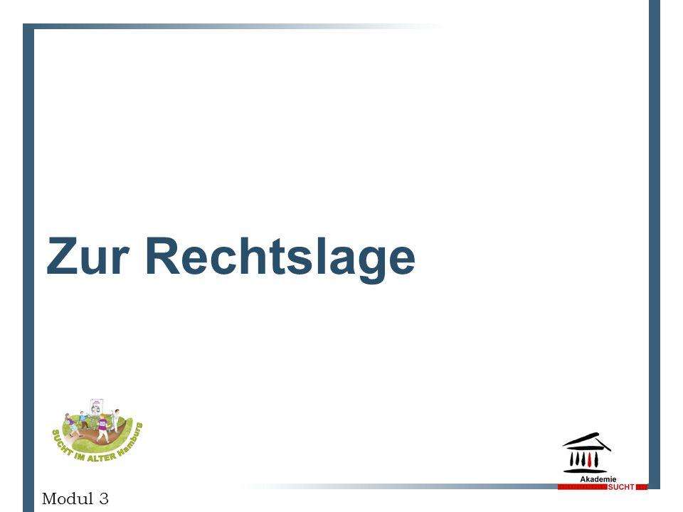 Zur Rechtslage GESCHÄFTSPLANPRÄSENTATION Modul 3