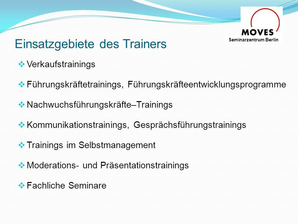 Die Trainerausbildung – Was wird vermittelt. Persönlichkeit, Rolle u.