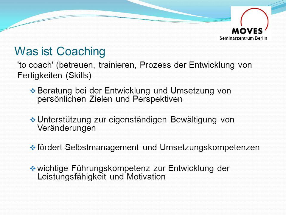 Wer braucht und nutzt Coaching.