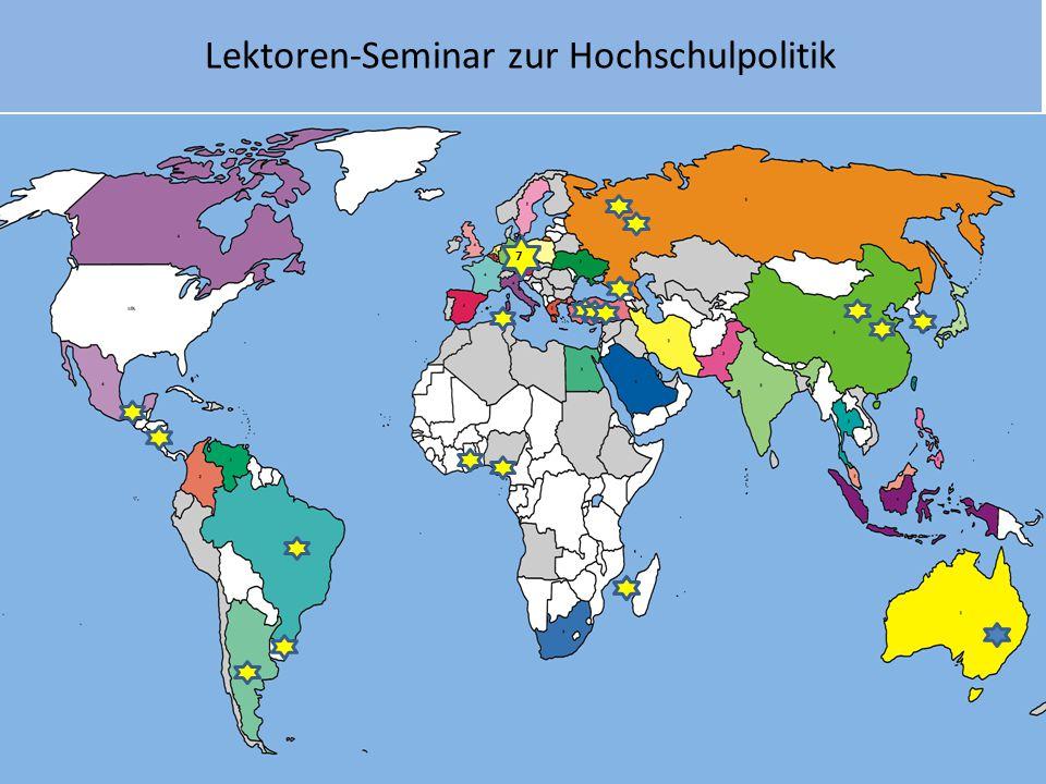 Lektoren-Seminar zur Hochschulpolitik ^7^7