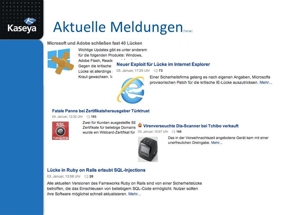 Software Update & Deployment Automatisiert Aktualisieren von – Java – Flash – Web Browsern – Adobe Reader – usw.