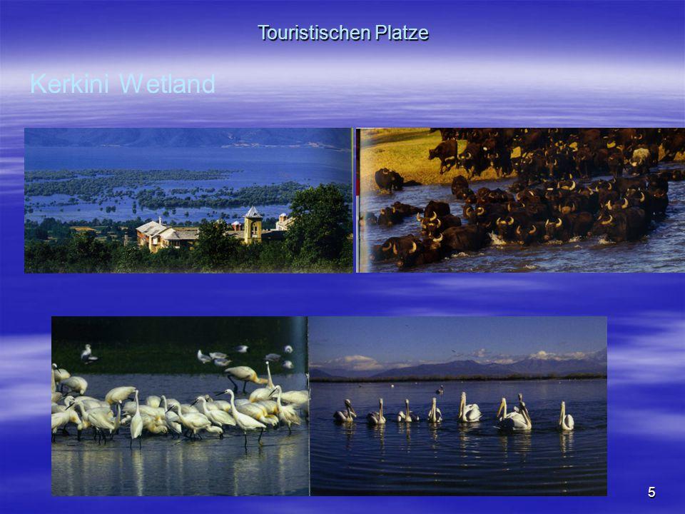 5 Kerkini Wetland Touristischen Platze