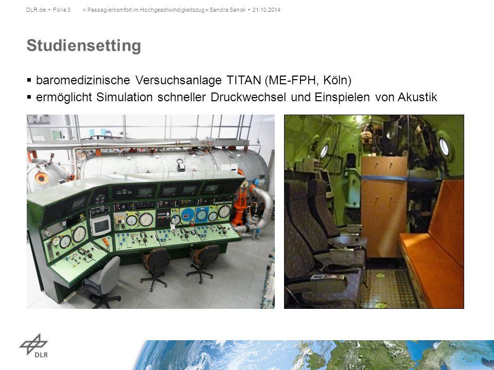 baromedizinische Versuchsanlage TITAN (ME-FPH, Köln)  ermöglicht Simulation schneller Druckwechsel und Einspielen von Akustik > Passagierkomfort im