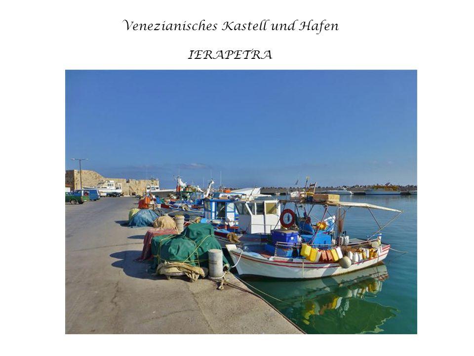 Venezianisches Kastell und Hafen IERAPETRA