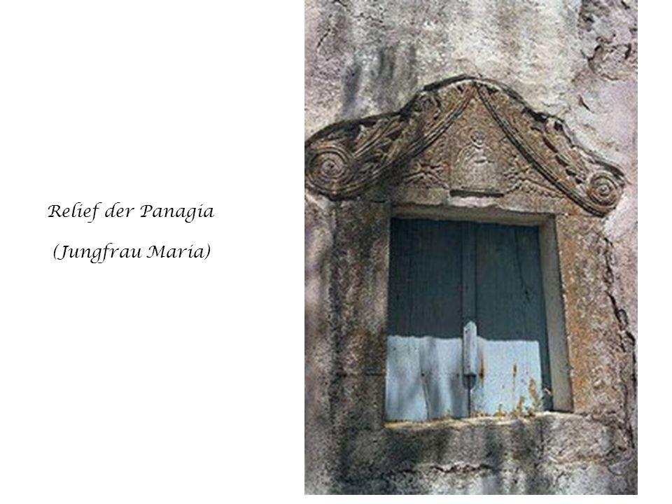 Relief der Panagia (Jungfrau Maria)