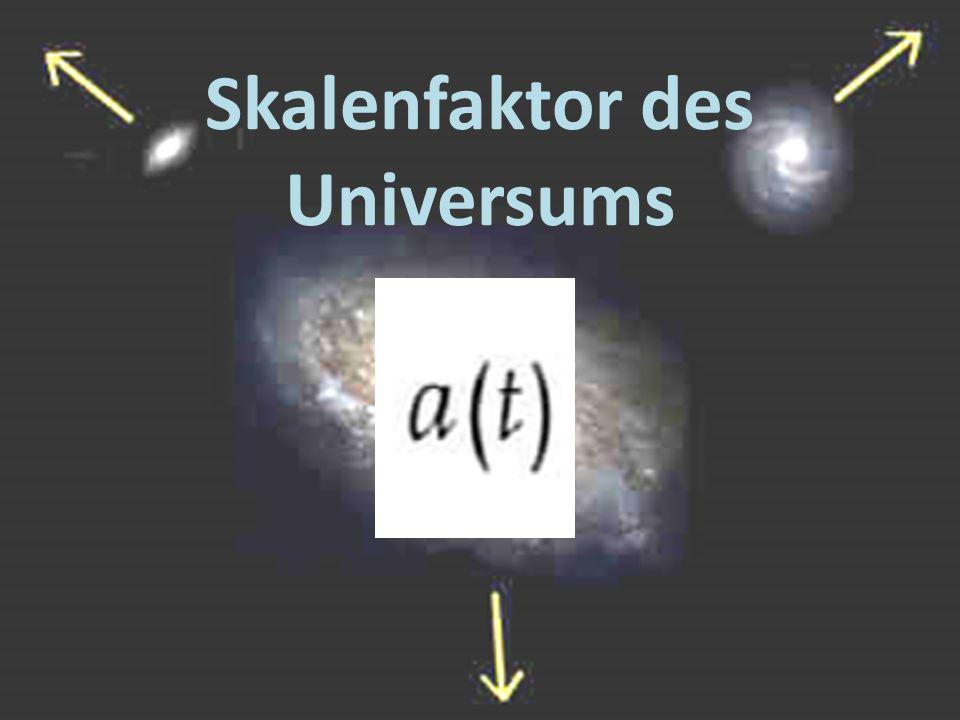 Skalenfaktor des Universums