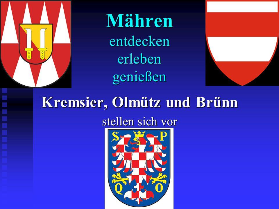 Aus der Geschichte Mährens  Historische Landschaft an der March zwischen Böhmisch-Mährischer Höhe, Ostsudeten und Beskiden.