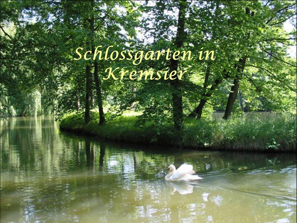 Schlossgarten in Kremsier