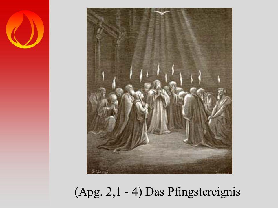 (Apg. 2,1 - 4) Das Pfingstereignis