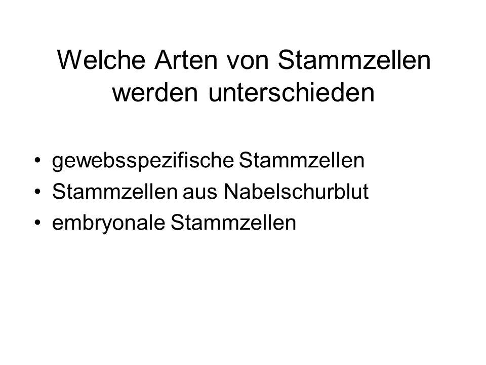 Gewinnung embryonaler Stammzellen in vitro FertilisationTherapeutisches Klonen Abbildungen aus: www.stammzellen.nrw.de
