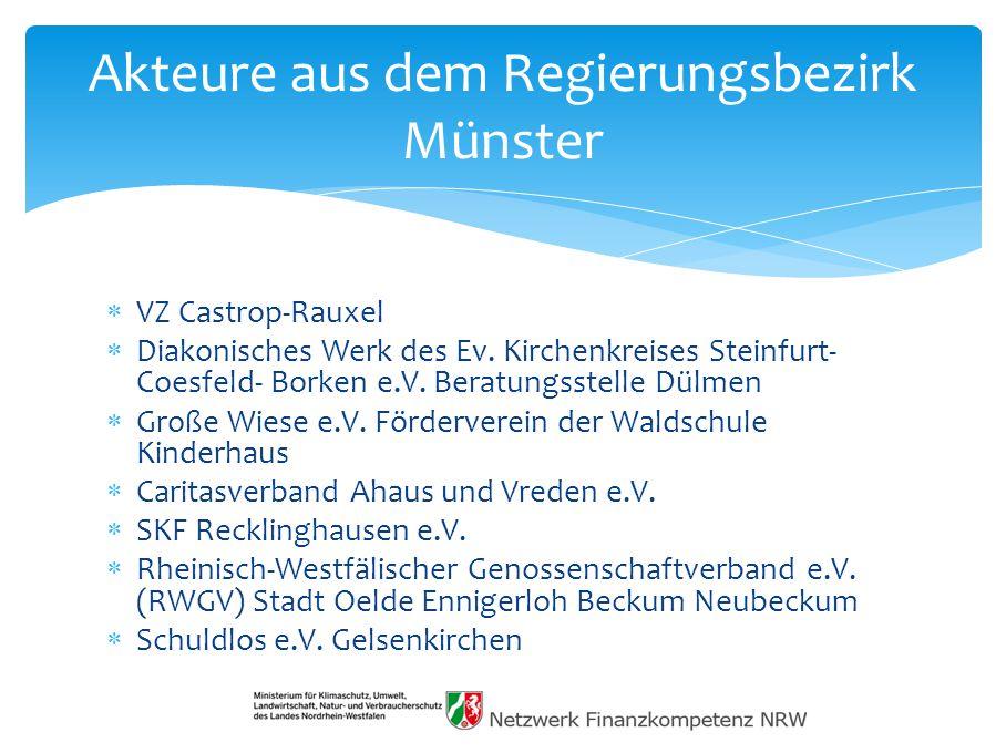  VZ Castrop-Rauxel  Diakonisches Werk des Ev.Kirchenkreises Steinfurt- Coesfeld- Borken e.V.