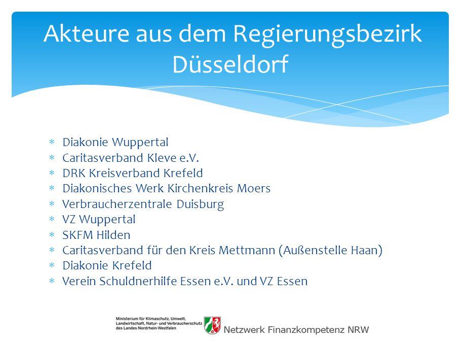  Diakonie Wuppertal  Caritasverband Kleve e.V.