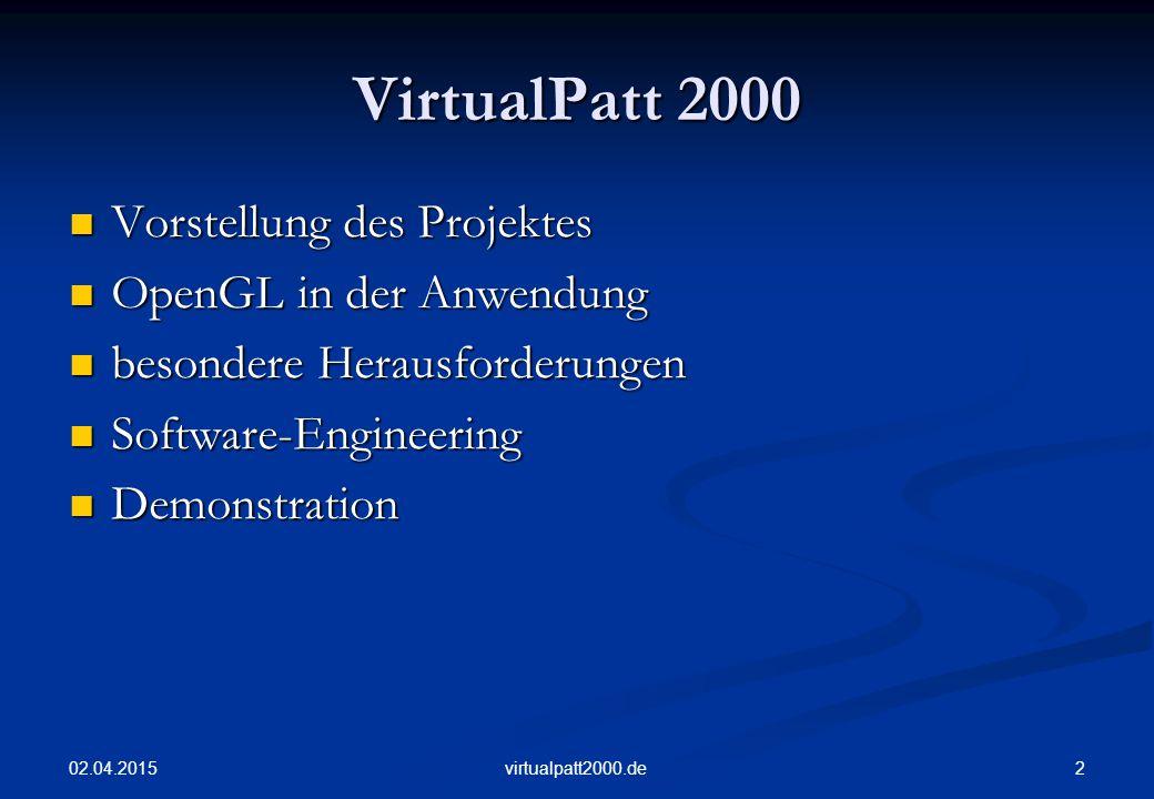02.04.2015 13virtualpatt2000.de Modelling