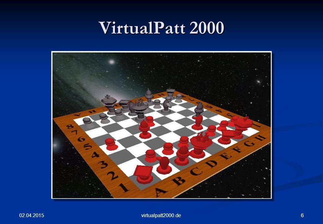 02.04.2015 7virtualpatt2000.de Graphical User Interface Graphical User Interface C++ GUI library Plattformübergreifend Viel genutzt GPL (unter anderem) OpenGL-Unterstützung Gute Dokumentation