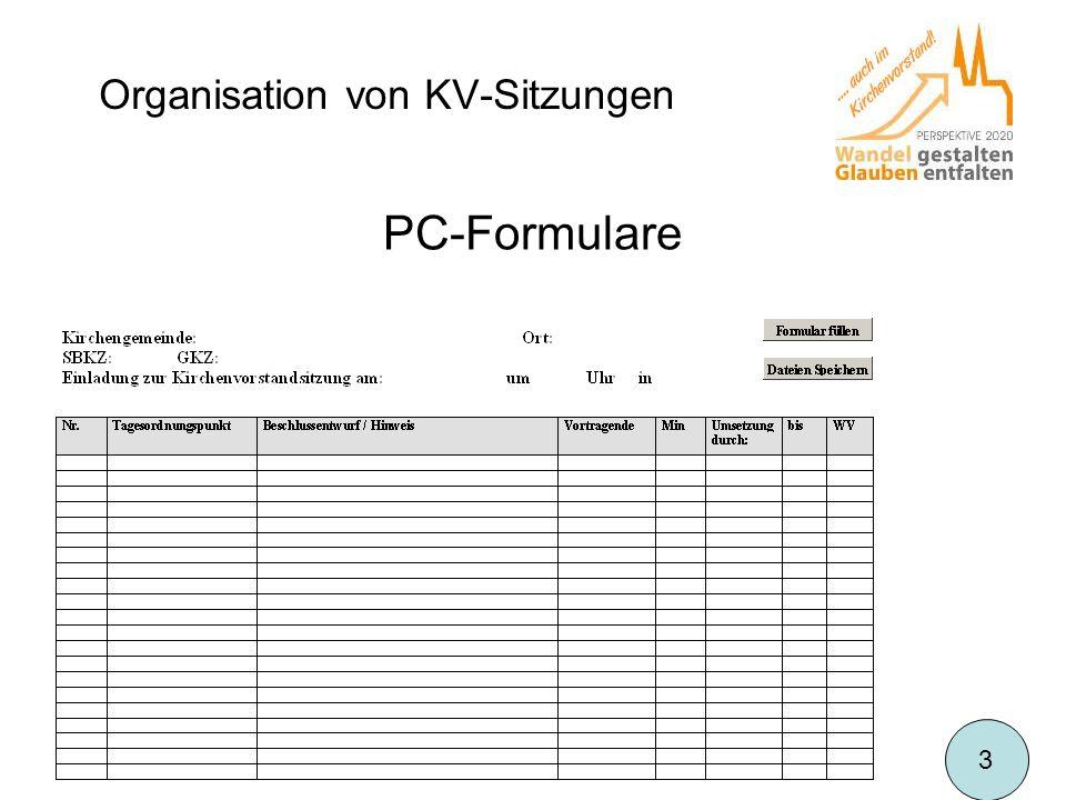 PC-Formulare 3
