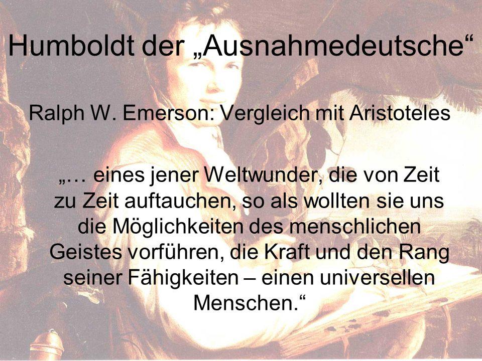 """Humboldt der """"Ausnahmedeutsche Ralph W."""