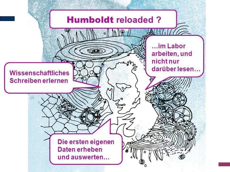 Humboldt reloaded .