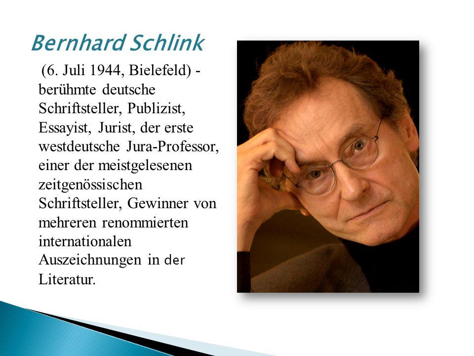 Bernhard Schlink (6.