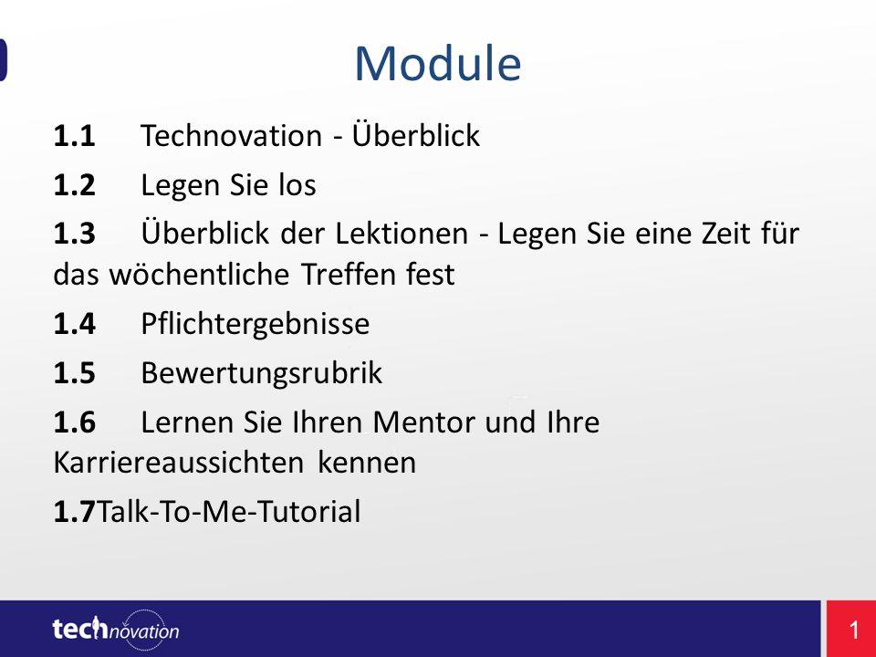 4 1.1 Einführung in Technovation